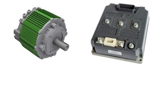 Set 57 KW Motor 225 Nm + Sevcon Gen4 Size6 48V-116V - Boostech