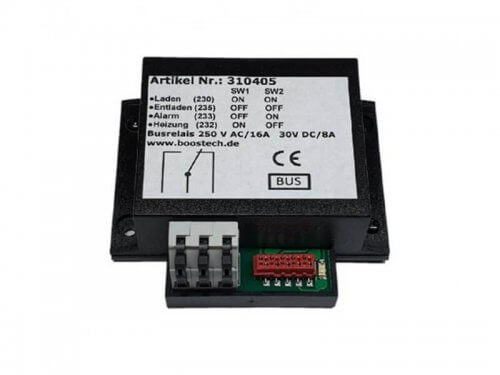 BMS multifunction relay